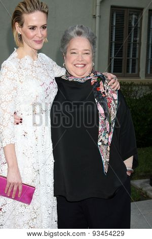 LOS ANGELES - JUN 11:  Sarah Paulson, Kathy Bates at the
