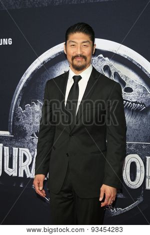 LOS ANGELES - JUN 9:  Brian Tee at the