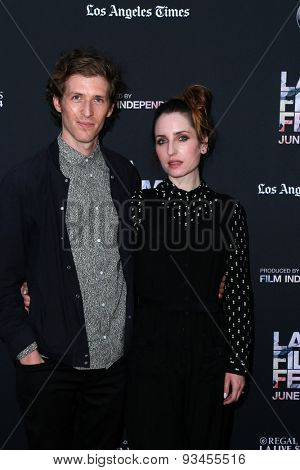 LOS ANGELES - JUN 10:  Daryl Wein, Zoe Lister-Jones at the