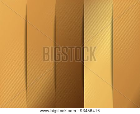 Gold social media design