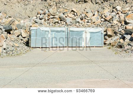 Material On Pallets