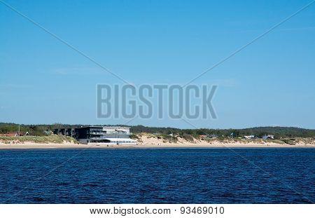 Skrea beach with Ocean's hotel