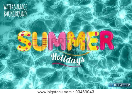 09 Water surface background WORK