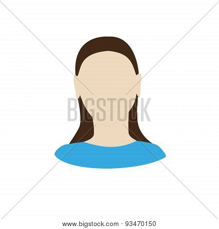 Female Portrait, Faceless