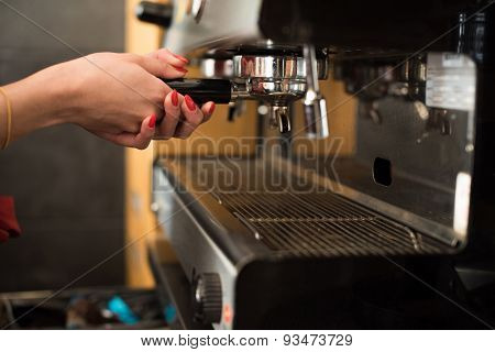 Hands On Expresso Machine