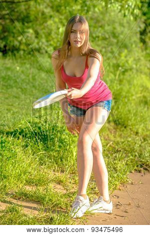 Frisbee player