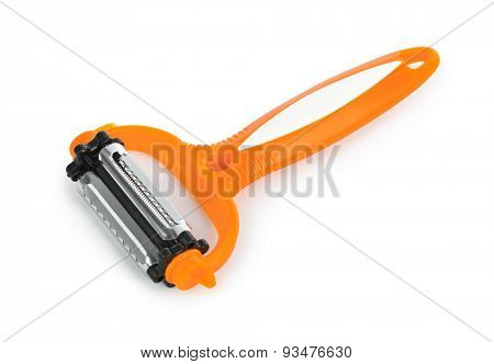 Vegetable peeler isolated on white background