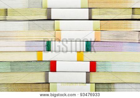 Money stacks - business background