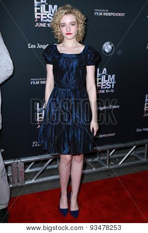 LOS ANGELES - JUN 10:  Julia Garner at the