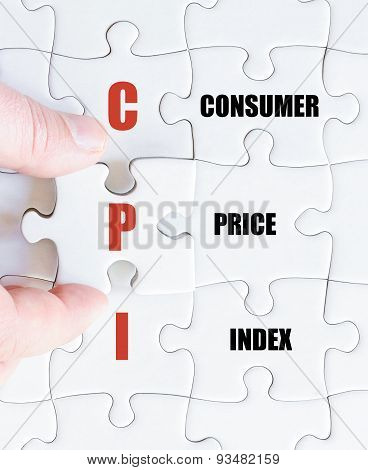 Last Puzzle Piece With Business Acronym Cpi