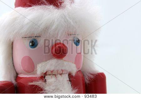Santa Nutcracker Close-up