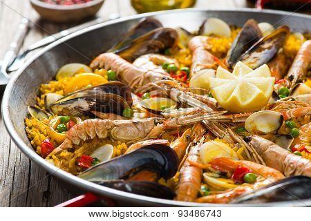 Seafood Spanish Paella