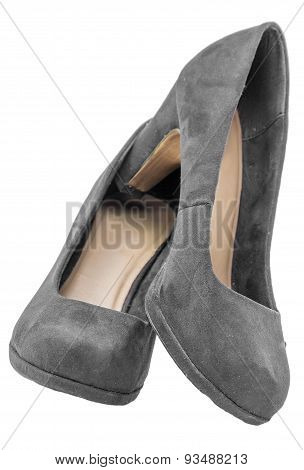 Suede Stiletto High Heel Classic