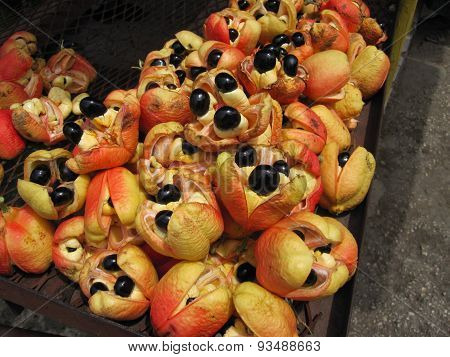 Delicious Jamaican Ackee Fruit