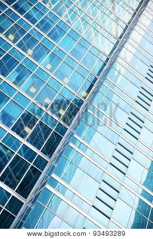 Modern office building - business background