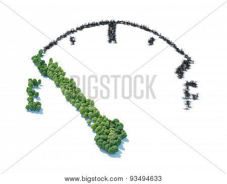 Fuel Meter Forest