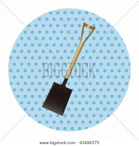 Gardening Shovel Theme Elements