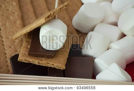 S'more Ingredients