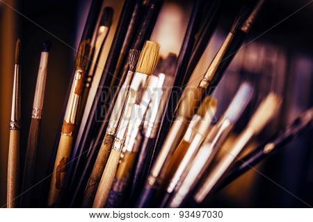 Oil Painting Paintbrushes