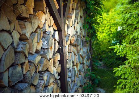 Pile Of Firewwood