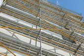 pic of scaffold  - repair home scaffolding building construction - JPG