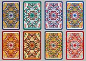 stock photo of oracle  - Collection retro cards - JPG