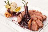 picture of roast duck  - Roasted duck - JPG