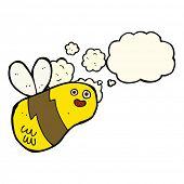 foto of bee cartoon  - cartoon bee - JPG
