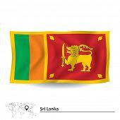 picture of sinhala  - Flag of Sri Lanka  - JPG