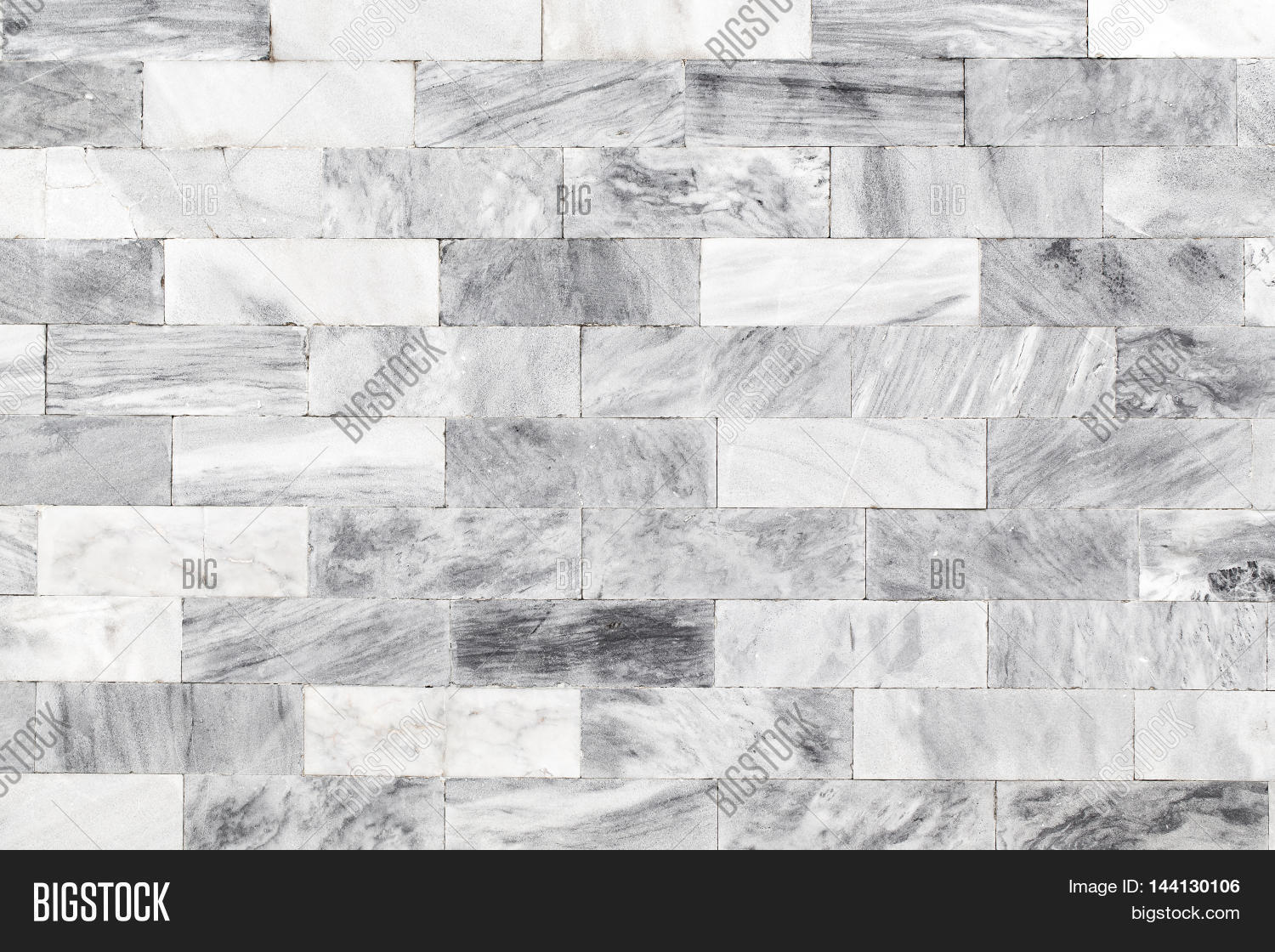 Natural Marble Black And White Patterned Texture