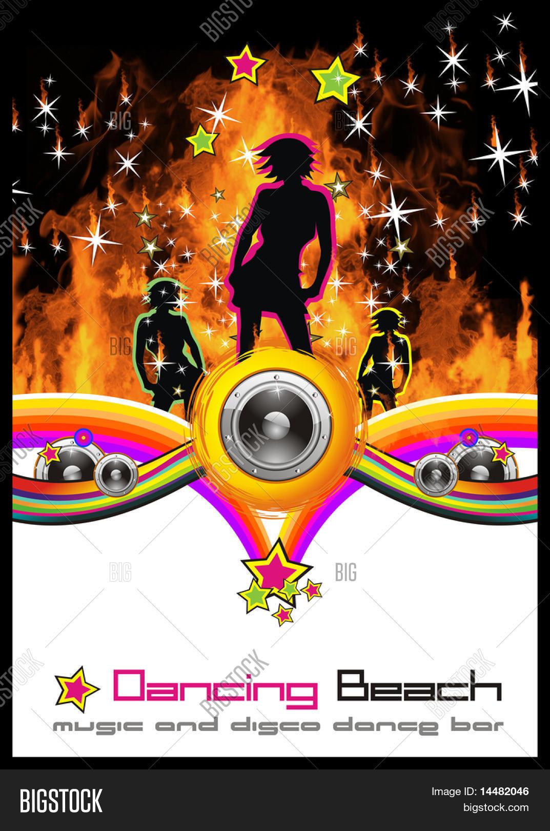 Disco Dance Background Music Event Image & Photo | Bigstock