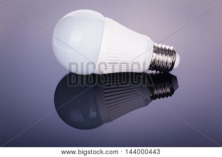 Led Lightbulb Reflection