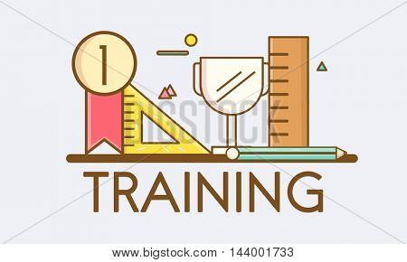 Training Development Education Learning Mentoring Concept