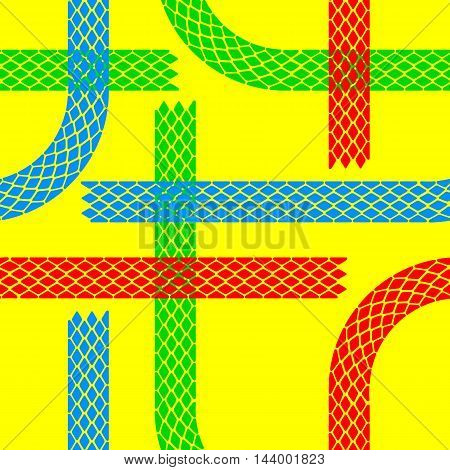 Seamless wallpaper tire tracks pattern illustration vector background