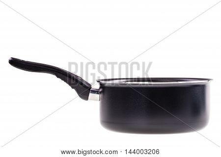 Sauce Pan Over White