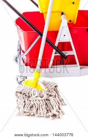 Professional Mop Bucket Detail