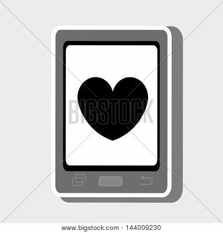smartphone cellphone technology vector illustration eps 10