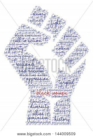 Black Women Word Cloud