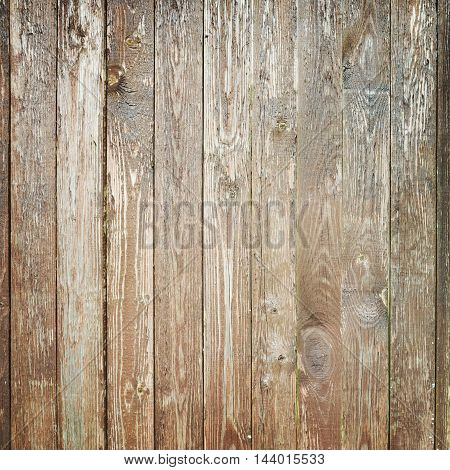 Old Weathered Wooden Wall, Square Texture