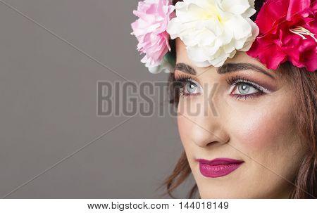 Hawaii style girl