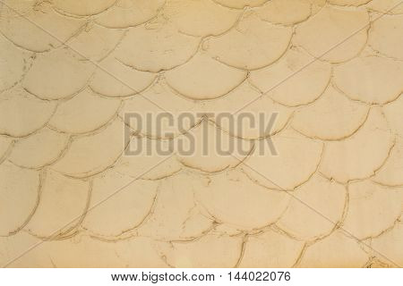 Yellow Mortar Or Cement Wall Texture For Background