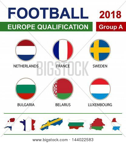 Football 2018, Europe Qualification, Group A