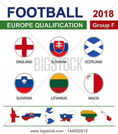 Football 2018, Europe Qualification, Group F