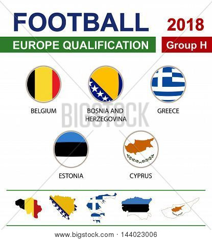 Football 2018, Europe Qualification, Group H