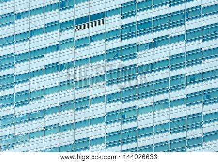 Glass Facade Of A Modern Building
