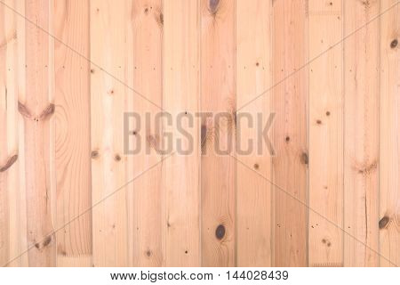 Background if sandy brown vertical planks horizontal view closeup