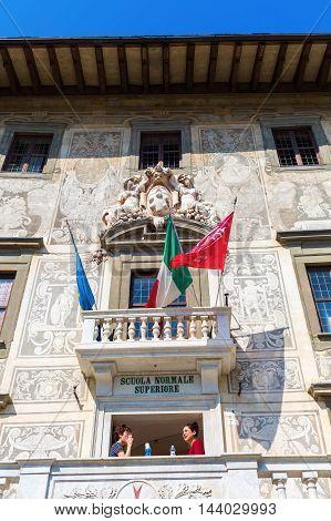 Palazzo Della Carovana In Pisa, Italy