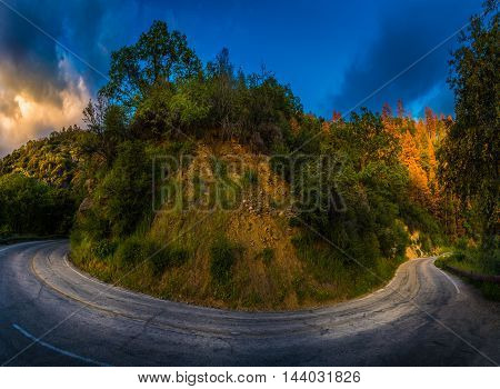 Generals Highway California