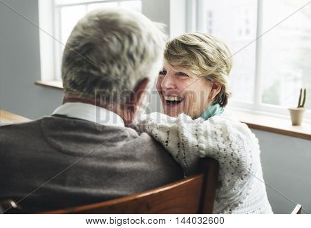 Senior Retirement Couple Husband Wife Concept