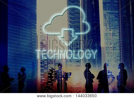 Cloud Computing Technology Networking Download Concept